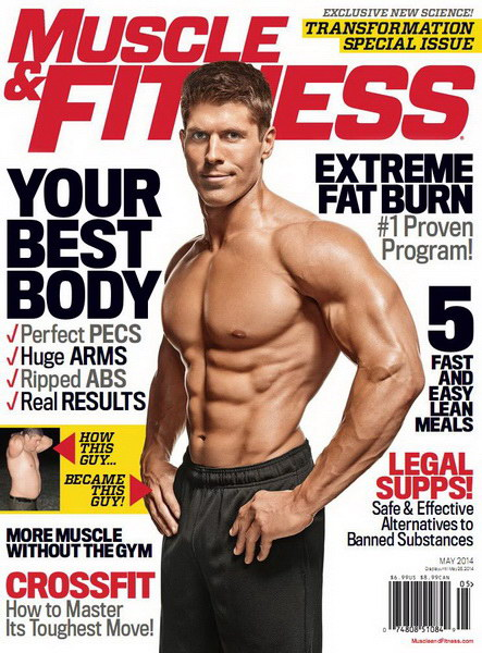 Muscle & Fitness May 2014 USA