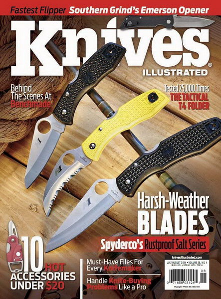Knives Illustrated July-August 2014